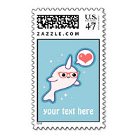 Custom Text Postage
