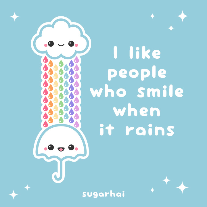 Smile, I Like People Who ...