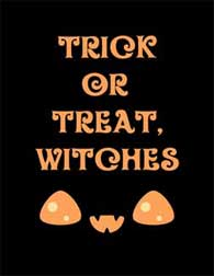 Trick or Treat, Witches